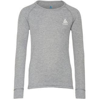 Odlo Active Warm Eco Unterhemd Kinder grey melange