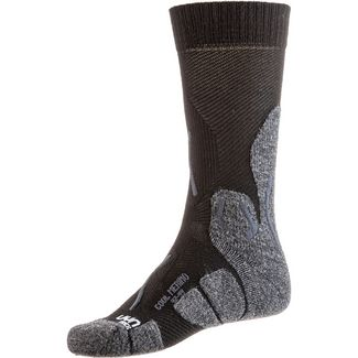 Uyn Merino COOL  MAN Wandersocken Herren black-grey melange