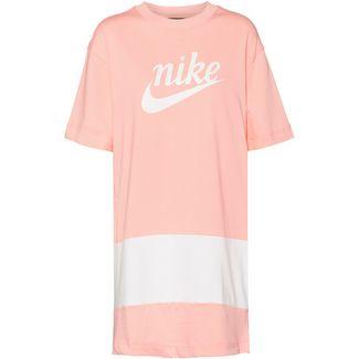 Nike NSW Varsity Jerseykleid Damen bleached coral-white-sail