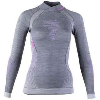 Uyn Merino Fusyon Unterhemd Damen anthracite-purple-pink