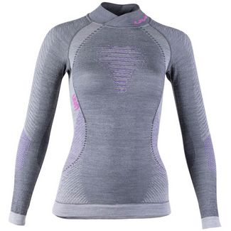 Uyn Merino Unterhemd Damen anthracite-purple-pink