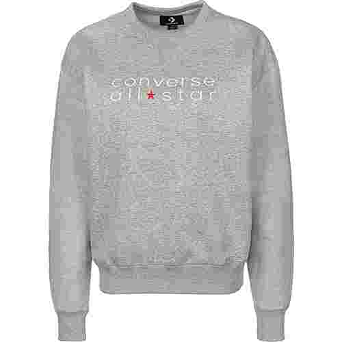 CONVERSE All Star Crew Sweatshirt Damen grau/meliert