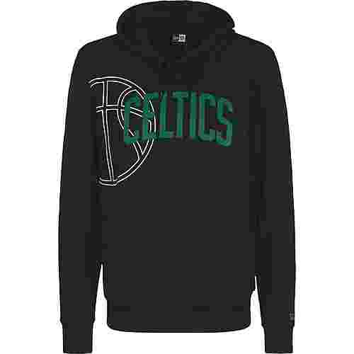New Era NBA Graphic Basketball Boston Celtics Hoodie Herren schwarz