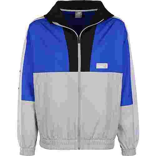 NEW BALANCE MJ91506 Windbreaker Herren grau/blau