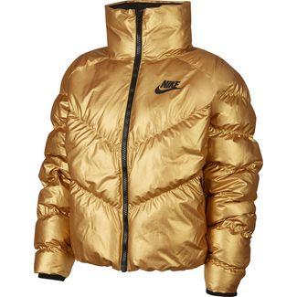 Nike Stmt Shine W Winterjacke Damen gold