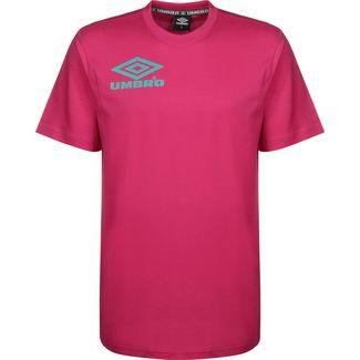 UMBRO Collider Crew T-Shirt Herren pink