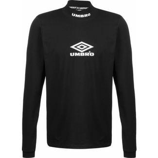 UMBRO Classico High Neck Sweatshirt Herren schwarz