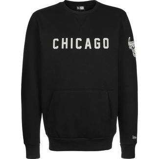 New Era NBA Wordmark Chicago Bulls Sweatshirt Herren schwarz
