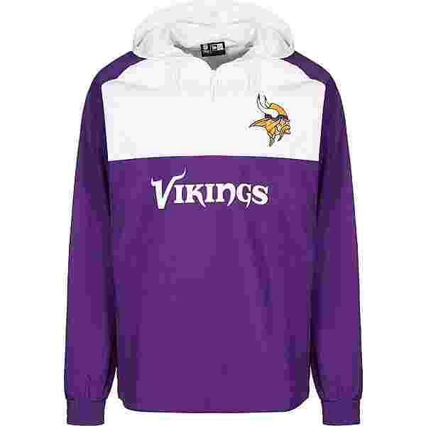 New Era NFL Minnesota Vikings Windbreaker Herren lila/weiß