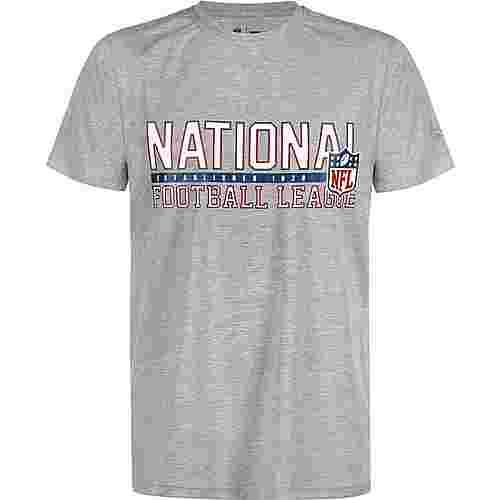 New Era NFL Stacked Wordmark Generic Logo T-Shirt Herren grau/meliert