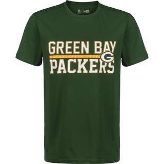 New Era NFL Stacked Wordmark Green Bay Packers T-Shirt Herren grün