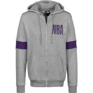 New Era NBA Los Angeles Lakers Sweatjacke Herren grau/meliert