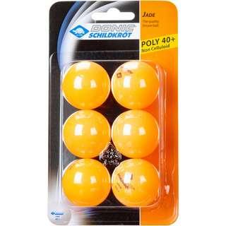 Donic-Schildkröt Jade Poly 40+ 6er Tischtennisball orange