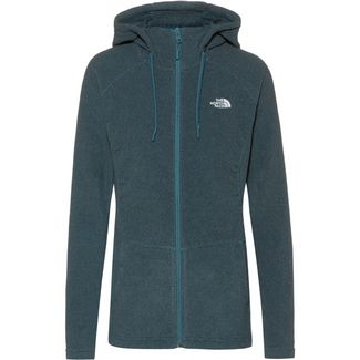 The North Face Mezzaluna Fleecejacke Damen MALLARD BLUE STRIPE