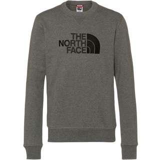 The North Face DREW PEAK Sweatshirt Herren tnf medium grey heather-tnf black