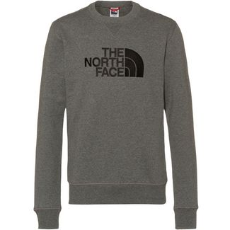 The North Face DREW PEAK Sweatshirt Herren tnfmediumgreyhtr/tnfblack