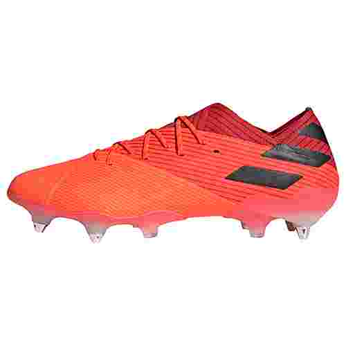 adidas Nemeziz 19.1 SG Fußballschuh Fußballschuhe Herren Signal Coral / Core Black / Glory Red