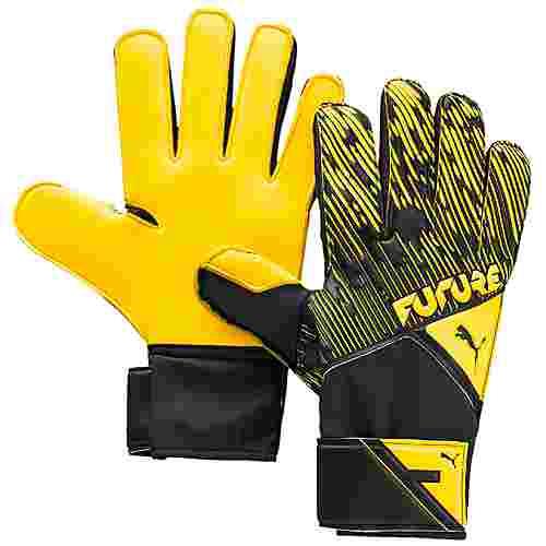 PUMA FUTURE Grip 5.4 Torwarthandschuhe Herren gelb / schwarz