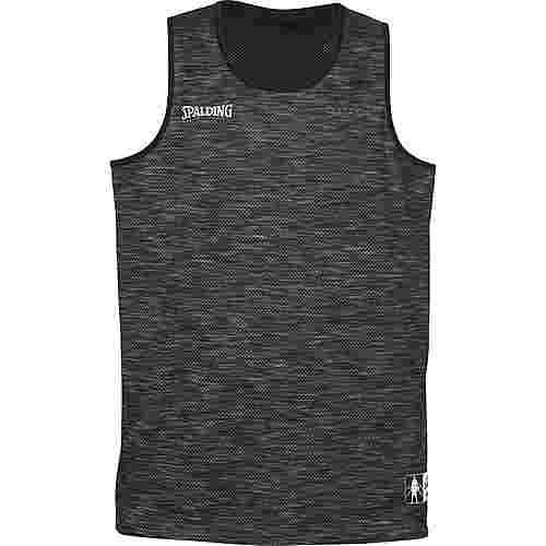 Spalding Street Reversible Basketball Shirt Herren schwarz / grau