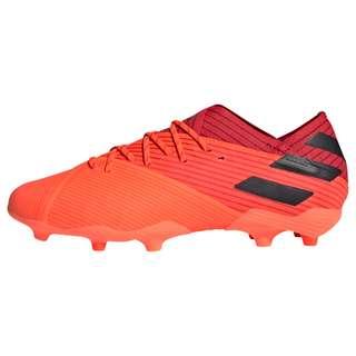 adidas Nemeziz 19.1 FG Fußballschuh Fußballschuhe Kinder Signal Coral / Core Black / Glory Red