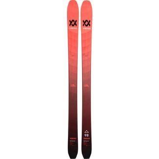 Völkl RISE BEYOND 98 FLAT Freeride Ski rot