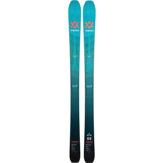 Völkl RISE ABOVE 88 FLAT Freeride Ski türkis-blau