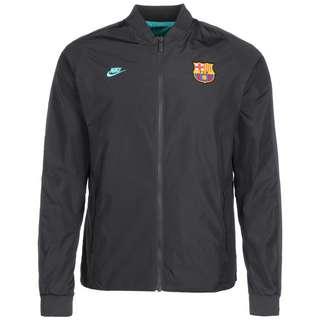 Nike FC Barcelona Reversible Trainingsjacke anthrazit / grün