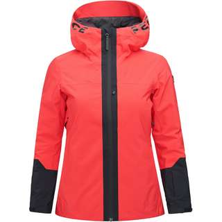 Peak Performance Kapuzenjacke Damen polar red
