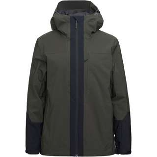 Peak Performance Kapuzenjacke Herren coniferous green