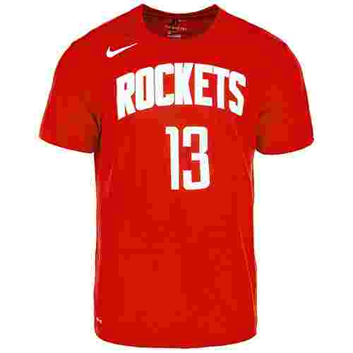 Nike James Harden Houston Rockets Fanshirt Herren rot / weiß