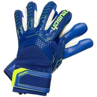 Reusch Attrakt Freegel S1 Finger Support Torwarthandschuhe Herren blau / neongelb
