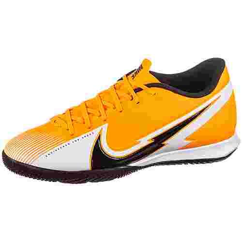 Nike Mercurial Vapor 13 Academy IC Fußballschuhe laser orange-black-white-laser orange