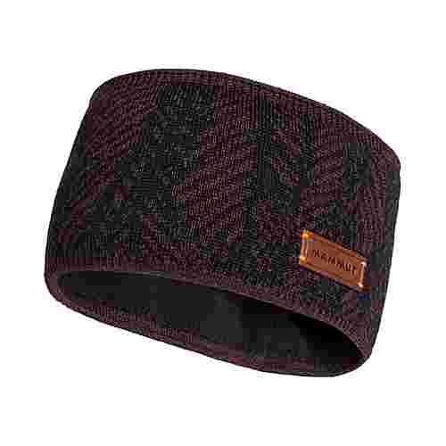 Mammut Snow Headband Stirnband Damen blackberry-black