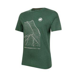 Mammut Sloper T-Shirt Men T-Shirt Herren woods melange