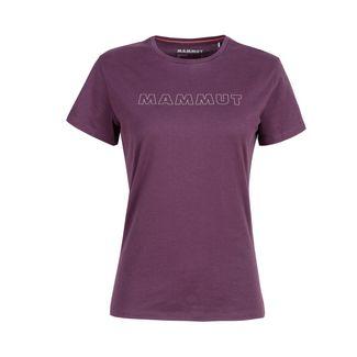 Mammut Seile T-Shirt Women T-Shirt Damen blackberry