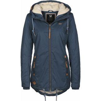 Ragwear ZUZKA W Winterjacke Damen blau
