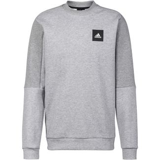 adidas MHS Sweatshirt Herren medium grey heather