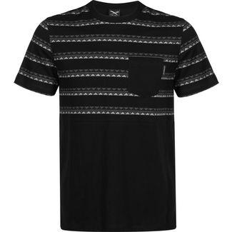 iriedaily Monte Noe Block T-Shirt Herren schwarz