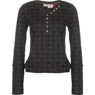 Ragwear Pinch Stars W Longshirt Damen schwarz