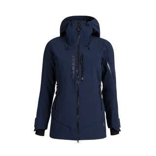 Mammut La Liste HS Thermo Hooded Jacket Women Hardshelljacke Damen marine