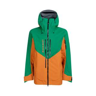 Mammut GORE-TEX® La Liste Pro HS Hooded Jacket Men Hardshelljacke Herren tumeric-deep emerald