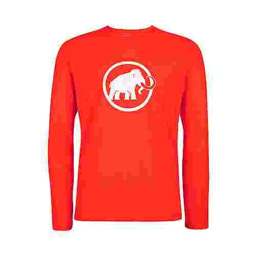 Mammut Mammut Logo Longsleeve Men Langarmshirt Herren spicy