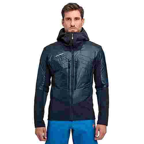 Mammut Eisfeld SO Hybrid Hooded Jacket Men Softshelljacke Herren night