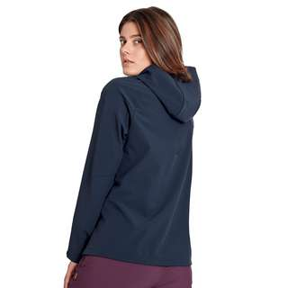 Mammut Sapuen SO Hooded Jacket Women Softshelljacke Damen marine