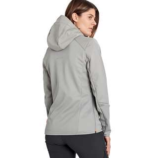 Mammut Ultimate VI SO Hooded Jacket Women Softshelljacke Damen granit-granit melange