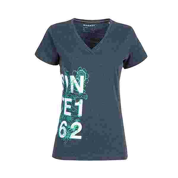 Mammut T-Shirt Damen marine melange