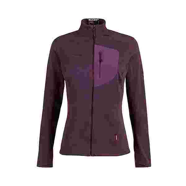 Mammut Fleecejacke Damen blackberry