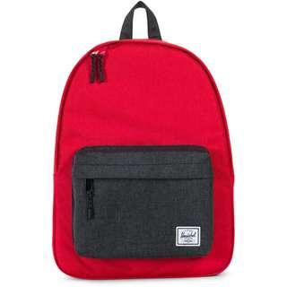 Herschel Rucksack Classic Daypack rot / grau