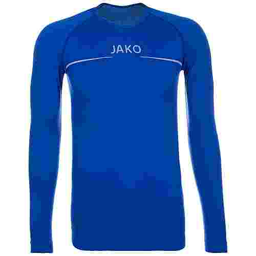 JAKO Comfort Funktionsshirt Herren blau / weiß