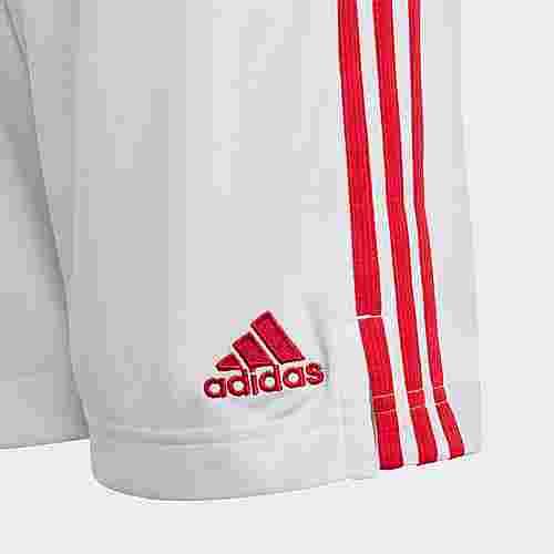 adidas Ajax Heimshorts Funktionsshorts Kinder Weiß